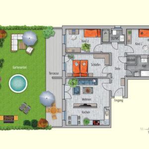4 Zimmer Mietwohnung Oberon