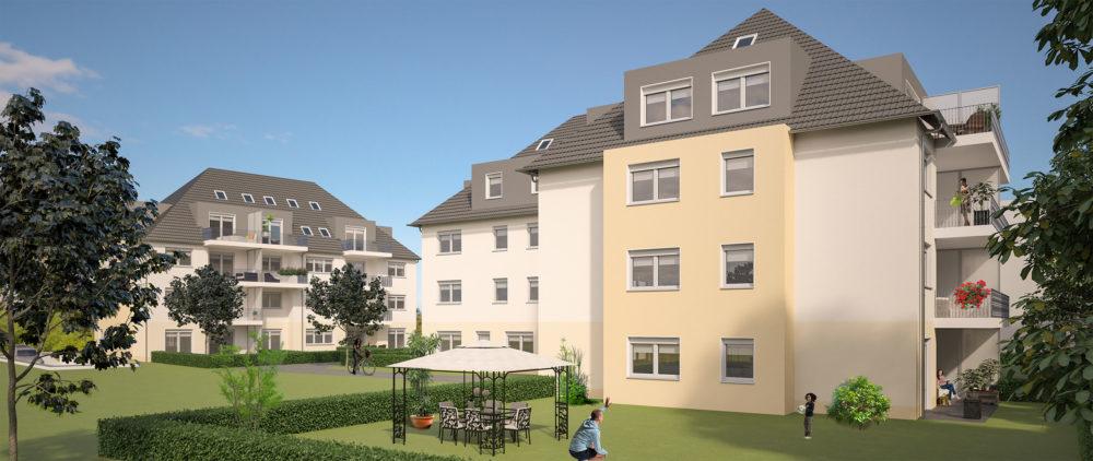 Eigentumswohnanlage Ansicht Reichenbrander Str. 2 Chemnitz